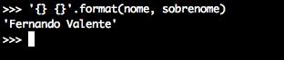 Python Format