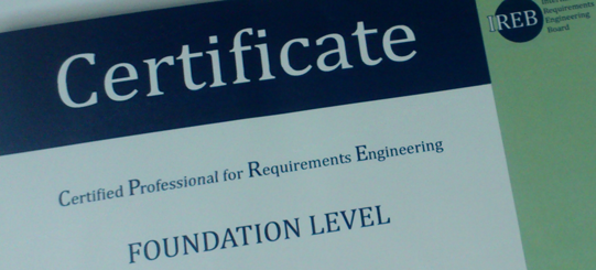 Certificações na área de Requisitos – CPRE (Certified Professional for Requirements Engineering)