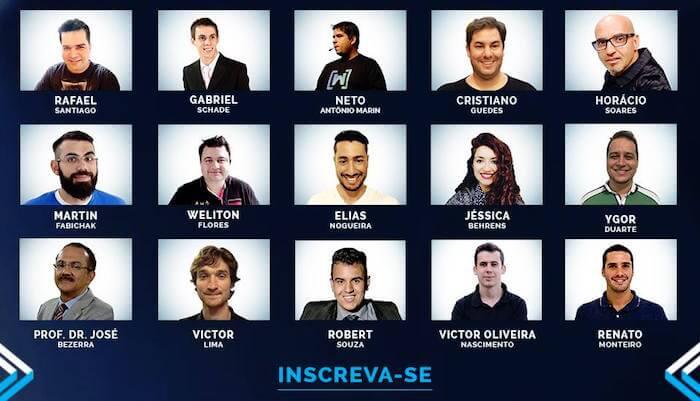 Figura - Primeiro Congresso Online de Desenvolvimento Mobile no Brasil