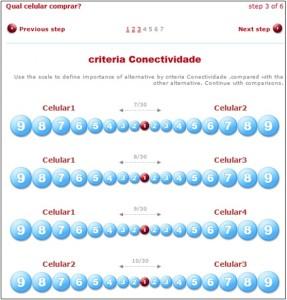 Criteria: Conectividade