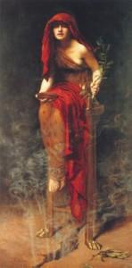 Óleo sobre tela de John Collier (1850-1934)