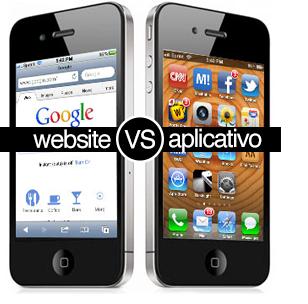 5 razões para se investir num site mobile em vez de aplicativo