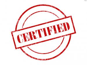 Certificação de Currículos