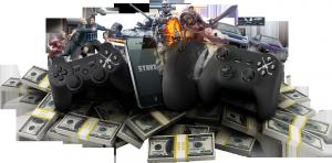 Como ganhar dinheiro com games?