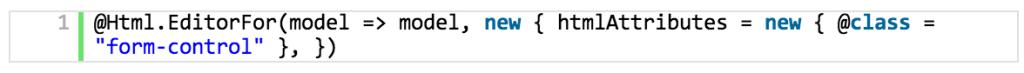 Suporte a Bootstrap em editor templates