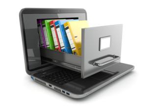 Como organizar documentos para fazer backup?