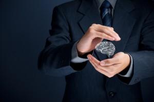 Figura - Substituir ou desenvolver o profissional, a responsabilidade nos dois lados da Moeda