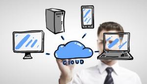Figura - Sourcing na nuvem em relação ao outsourcing tradicional : 6 Diferenças