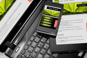 Figura - Sites responsivos e aplicativos para dispositivos móveis