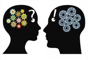 Figura - Como decidir?  Pela razão ou emoção?