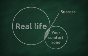 """Figura - Um estilo de vida chamado """"Zona de Conforto"""""""