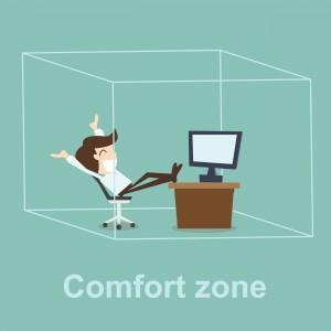 Figura - Mexa-se, saia da zona de conforto