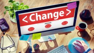 Adapte-se as mudanças!
