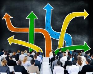 Figura - Como superar a crise com a Reestruturação Organizacional