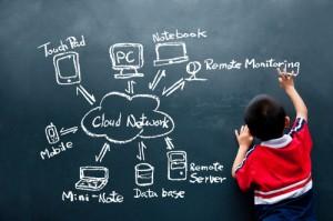 Figura - Tecnologia e educação: onde está o equilíbrio?