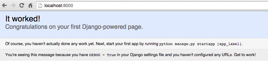 Django Page