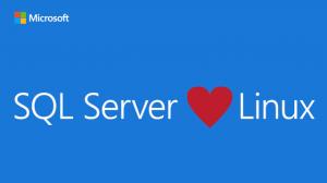 Figura - Microsoft anuncia o SQL Server para Linux