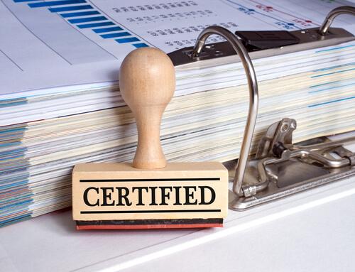 A certificação e (toda) a experiência, vale a pena em tempos de crise!!!???