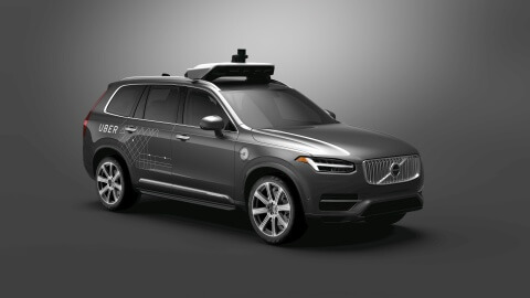 Volvo Cars anuncia venda de veículos autônomos para o Uber