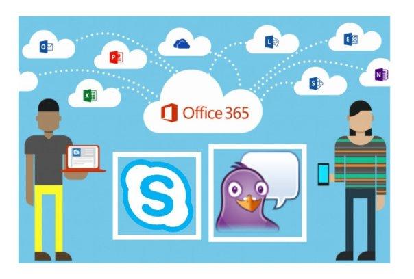Skype for business no linux? Sim com PIDGIN!!