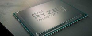 Figura - Processador que quebrou recorde mundial, 2ª Geração AMD Ryzen™ Threadripper™, com disponibilidade mundial para 13 de agosto